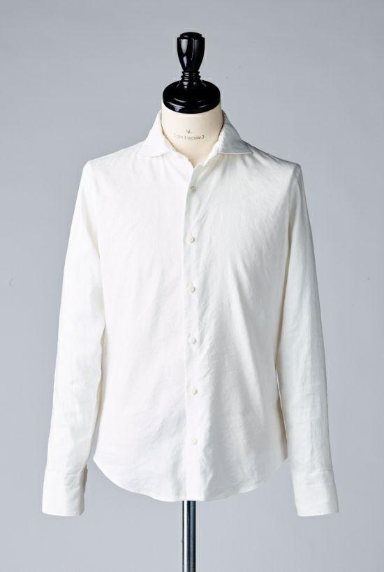 1piu1uguale3 PLAIN LINEN shirts シャツ ホリゾンタル akm leon レオン リゾート ミリタリー