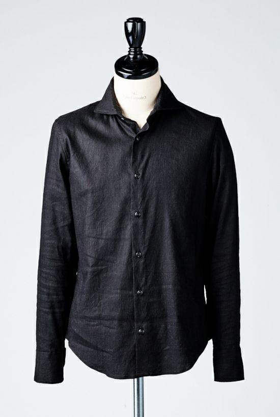 1piu1uguale3 PLAIN  shirts シャツ ホリゾンタル LINEN