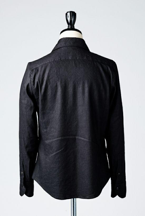 1piu1uguale3 PLAIN LINEN shirts シャツ ホリゾンタル